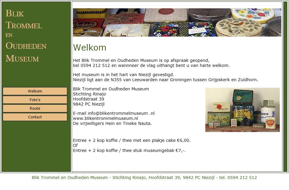 Museumgasten @ Blik trommel en oudheden museum