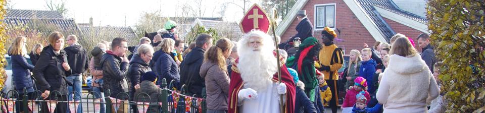 Sinterklaasintocht Niezijl