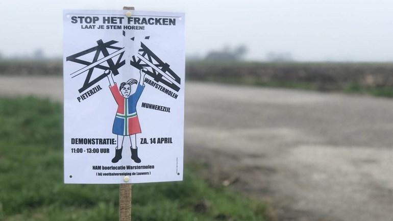 Gemeenteraad Zuidhorn unaniem tegen fracken bij Pieterzijl