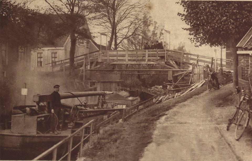 Vervanging brug over het Niezijlsterdiep