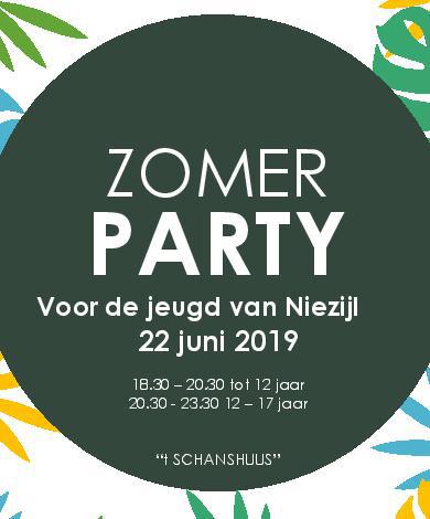 Zomerparty @ 't Schanshuus